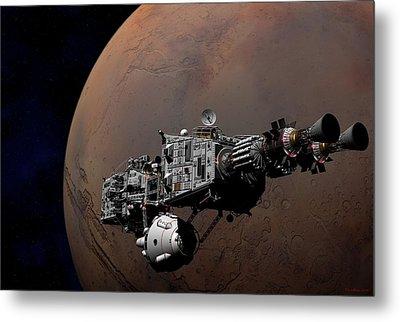 Metal Print featuring the digital art Shenandoah At Mars by David Robinson