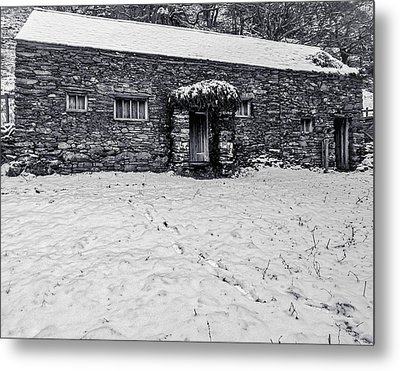Shepherds Cottage Metal Print