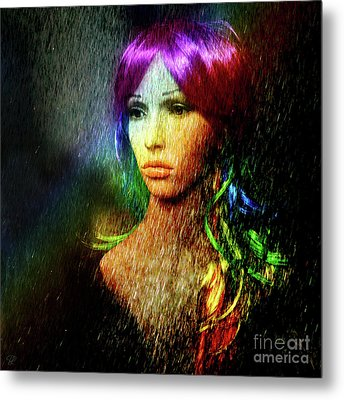 She's Like A Rainbow Metal Print by LemonArt Photography