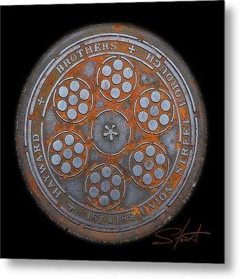 Shield 2 Metal Print