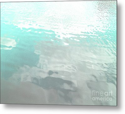 Metal Print featuring the photograph Let The Water Wash Over You. by Rebecca Harman