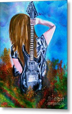 Shining Star Metal Print by Lori  Lovetere