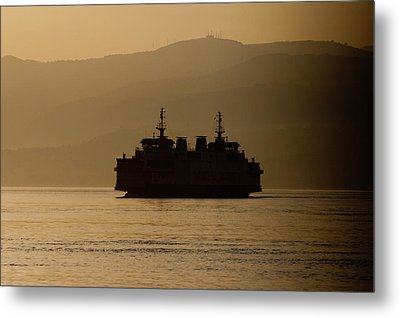 Ship Metal Print by Bruno Spagnolo