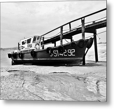 Ship Metal Print by Contemporary Art