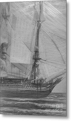 Ships And Sea Exploration Metal Print