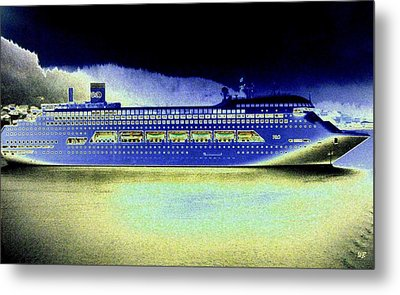 Shipshape 7 Metal Print by Will Borden