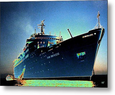 Shipshape 9 Metal Print by Will Borden