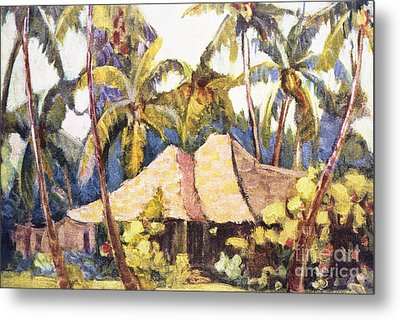 Shirley Russell Art Metal Print by Hawaiian Legacy Archive - Printscapes