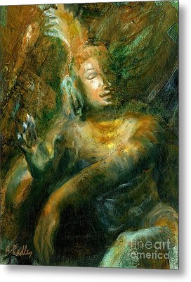 Shiva Lord Of The Dance Metal Print by Ann Radley