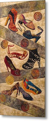 Shoe Crazy Metal Print by Lynda K Boardman
