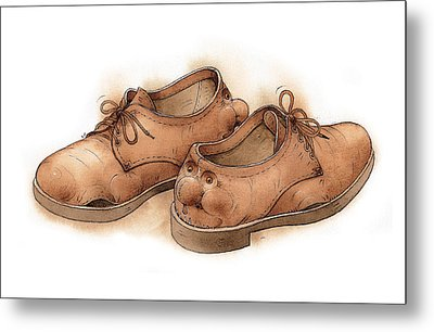 Shoes02 Metal Print by Kestutis Kasparavicius