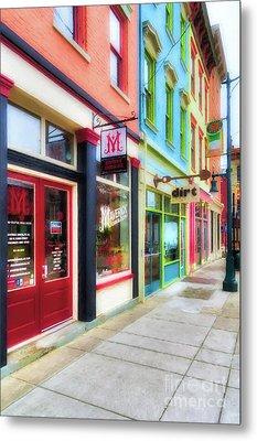 Shops At Cincinnati's Findlay Market # 6 Metal Print by Mel Steinhauer