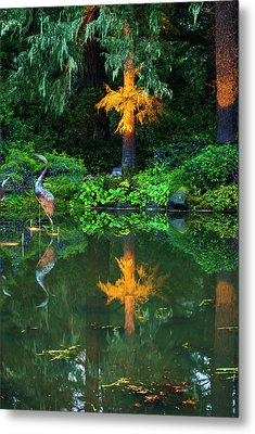 Metal Print featuring the photograph Shore Acres Beauty by Dale Stillman