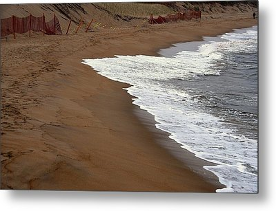 Shore Art - Plum Island Metal Print