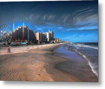 Metal Print featuring the photograph Shoreline by Jim Hill