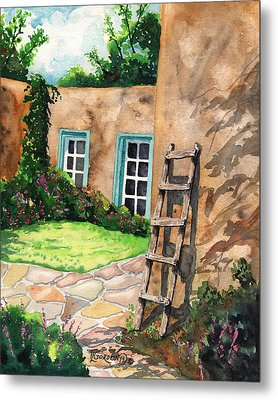 Short Ladder Metal Print by Timithy L Gordon