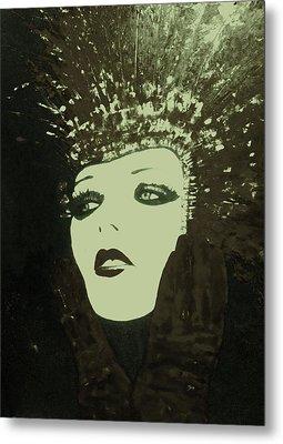 Show Girl Molly Metal Print