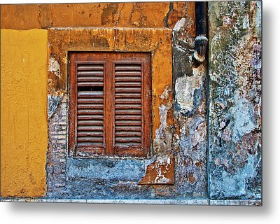 Metal Print featuring the photograph Shuttered by Harry Spitz