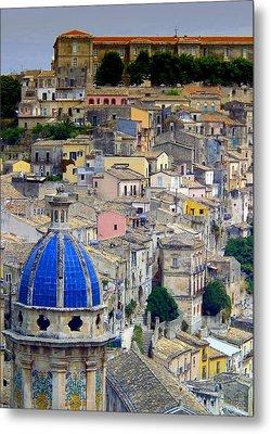 Sicily Metal Print by Sorin Ghencea