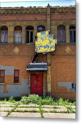 Side Entrance Metal Print by David Kyte