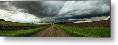 Metal Print featuring the photograph Sidewinder by Aaron J Groen