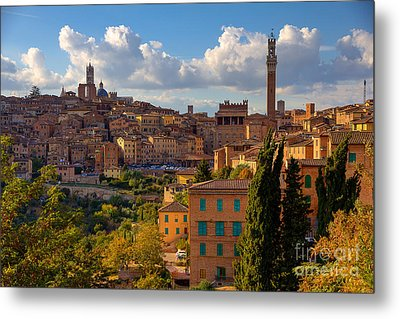 Metal Print featuring the photograph Siena by Spencer Baugh