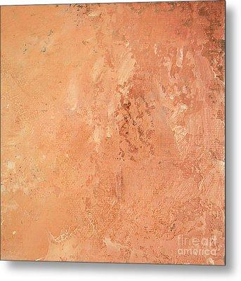 Sienna Rose Metal Print by Michael Rock