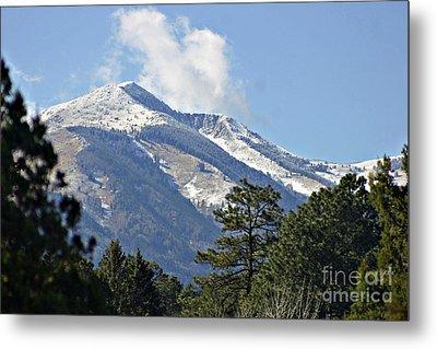 Sierra Blanca Clouds 4 Metal Print