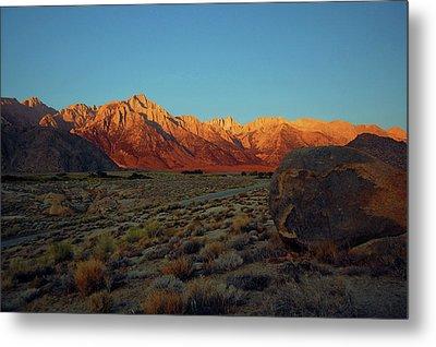 Sierra Nevada Sunrise Metal Print