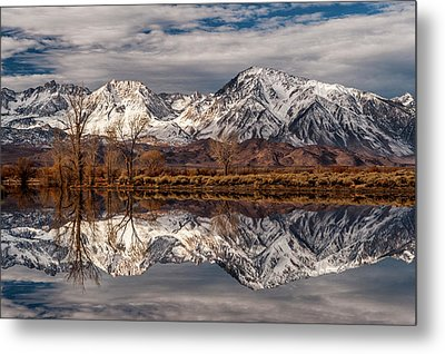 Sierra Reflections 2 Metal Print by Cat Connor