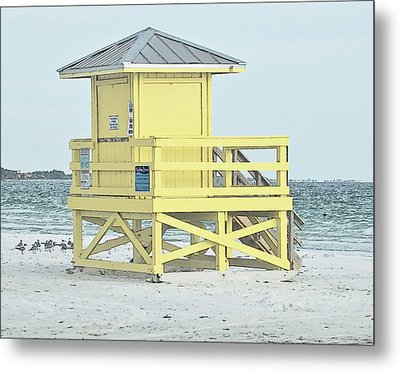 Siesta Key Beach 1 Metal Print