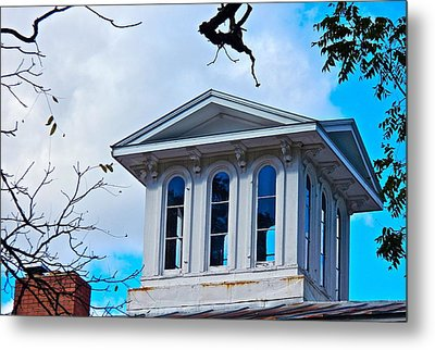 Sightseeing Cupola Metal Print