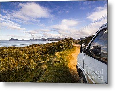 Sightseeing Southern Tasmania Metal Print by Jorgo Photography - Wall Art Gallery