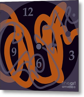 Sign Of Our Times Metal Print