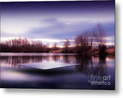 Metal Print featuring the photograph Silence Lake  by Franziskus Pfleghart