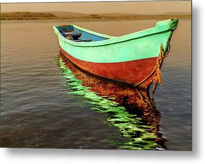 Silence Metal Print by Stelios Kleanthous