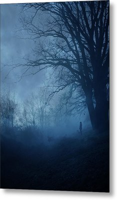 Silence Metal Print by Cambion Art