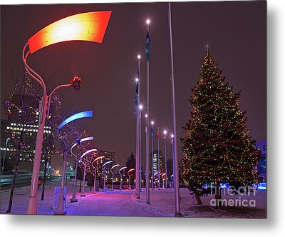 Metal Print featuring the photograph Silent Night.. by Nina Stavlund