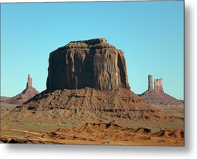 Silent Sentinel Metal Print by Fred Wilson