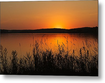 Silent Sunset Metal Print by Penny Meyers