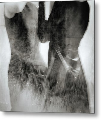 Silhouette #2345 Metal Print