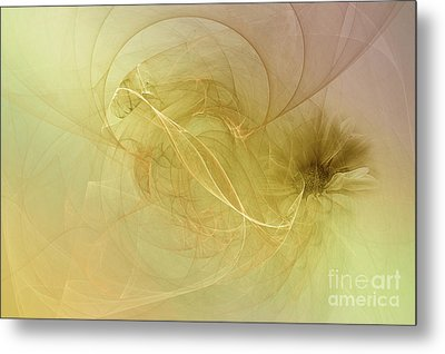 Silk Dream Metal Print by Elaine Manley