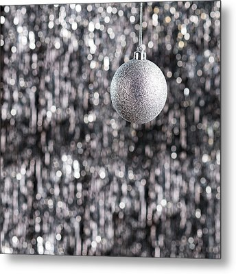 Metal Print featuring the photograph Silver Christmas by Ulrich Schade