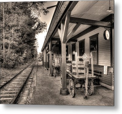 Silver Lake Rail Road 253 Metal Print
