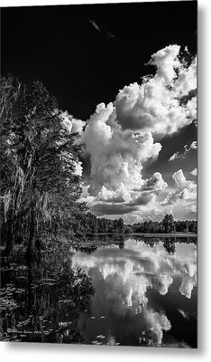 Silver Linings Metal Print by Marvin Spates