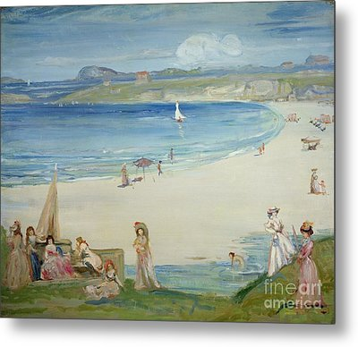 Silver Sands Metal Print by Charles Edward Conder
