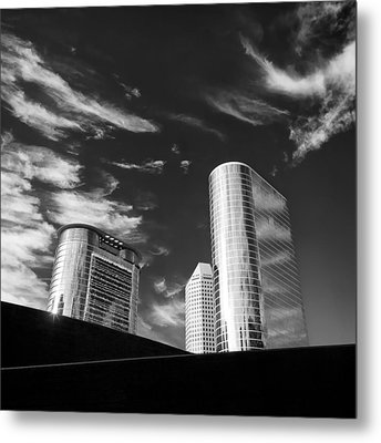 Silver Towers Metal Print by Dave Bowman