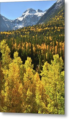 Metal Print featuring the photograph Silverton Mountainscape by Ray Mathis