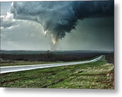 Silverton Texas Tornado 2 Metal Print by James Menzies