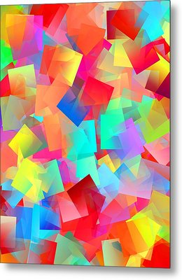 Simple Cubism 27 Metal Print